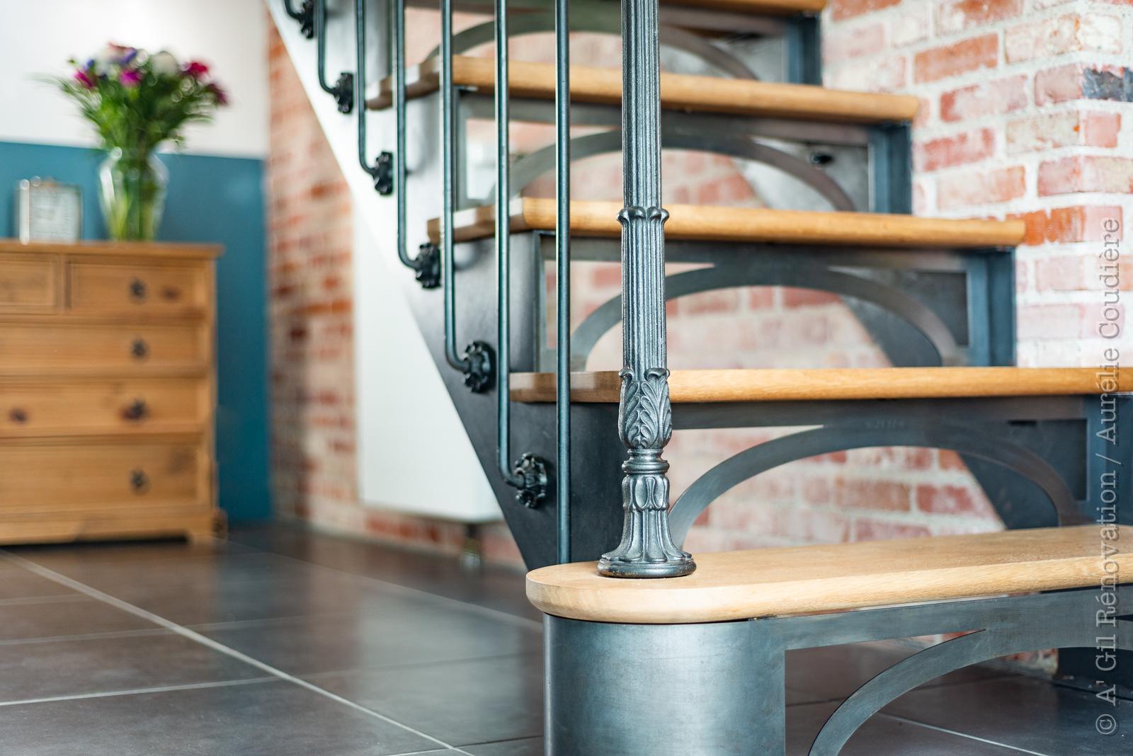 escalier bistrot