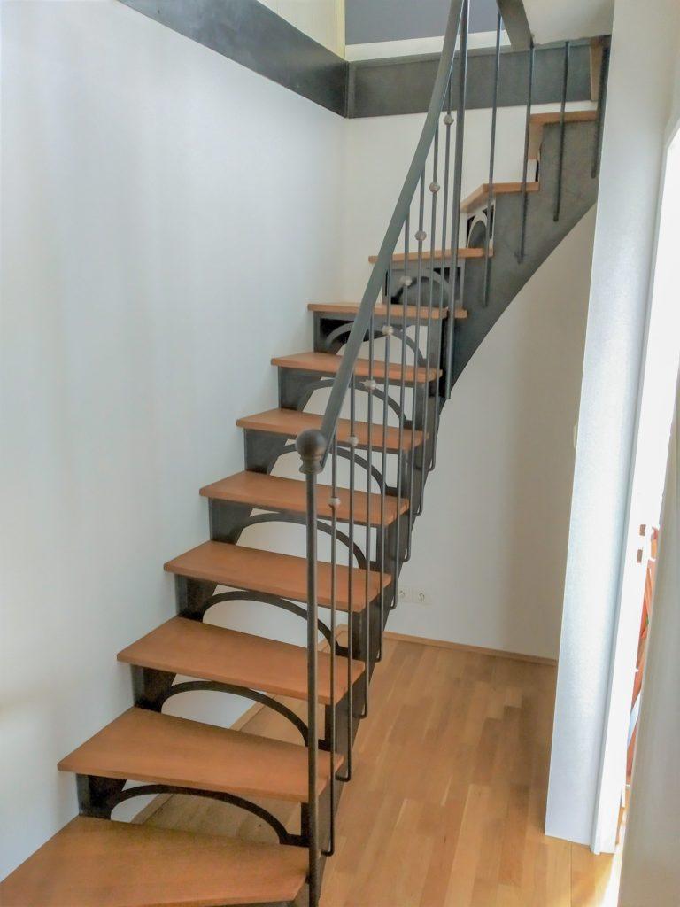 Fabricant D Escalier Bois l'escalier métal - fabricant d'escalier métal et bois sur mesure